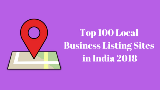 100+ Indian business listing sites list 2018 (New Updated