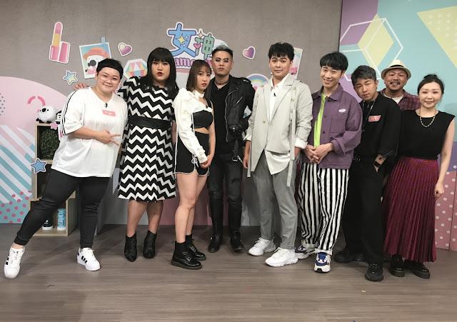 女神Camera特別企劃彩妝師Pink(左起)黃小愛,April,King Mao,路克,小賴,髮型師KYo,攝影師阿志哥,造型師Mia