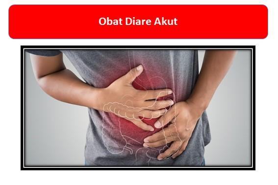 Obat Diare Akut