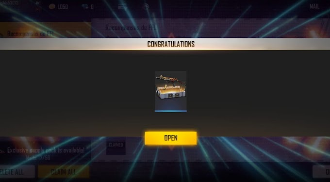 Free Fire redeem code for today (22nd February) claim Wilderness Hunter weapon loot crate