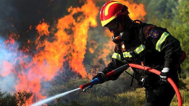 Έκρηξη πυρκαγιών 165,5%, με την έναρξη της αντιπυρικής περιόδου