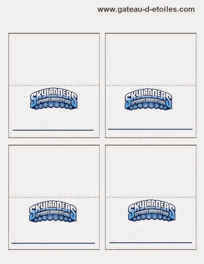 Skylanders Free Printable Mini Kit. | Oh My Fiesta! in english