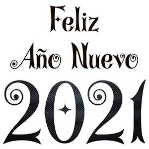 imagen png feliz año nuevo 2021