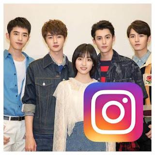 Nama Instagram Pemain Meteor Garden 2018