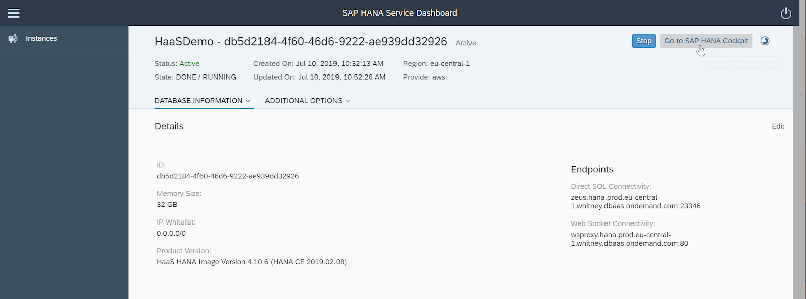SAP HANA Central : SAP HANA Development from Alternative IDEs