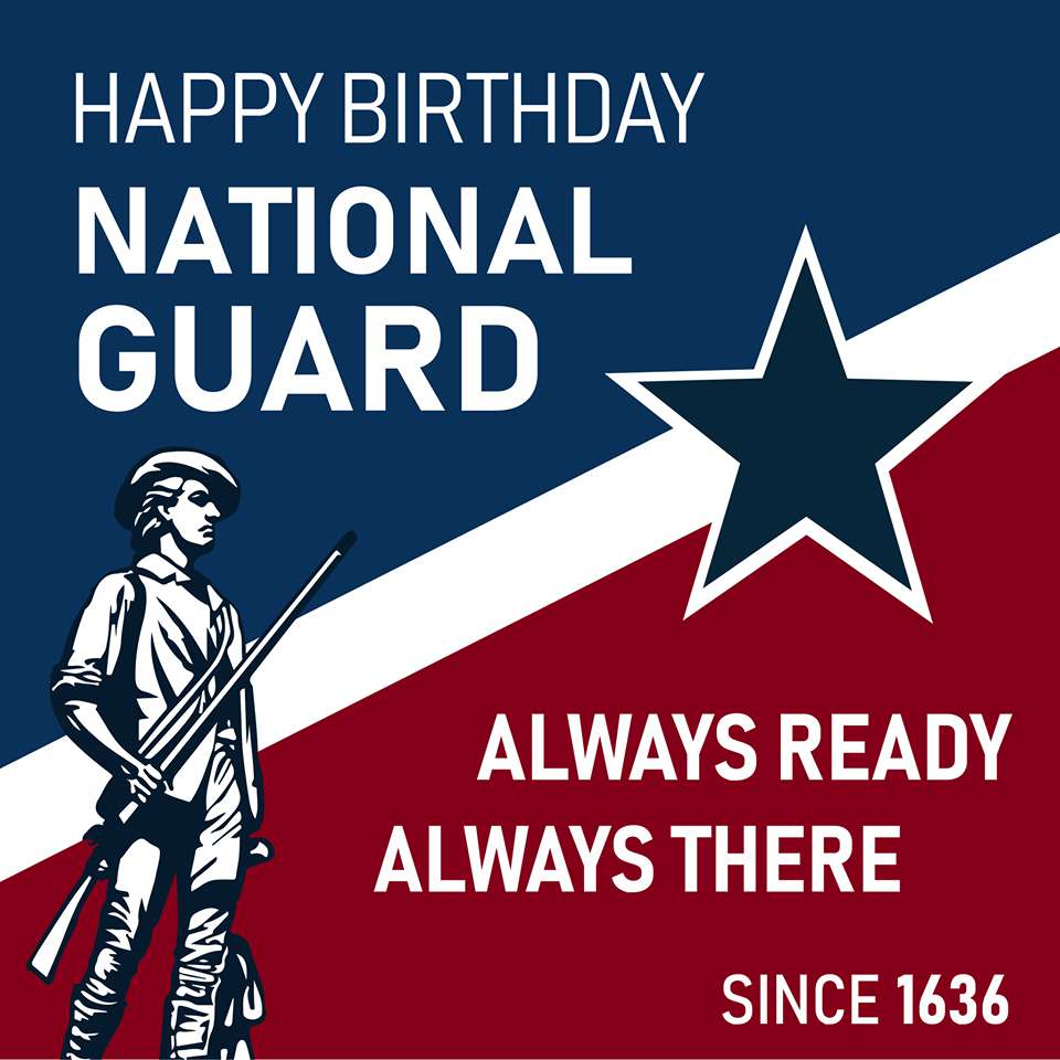 U.S. National Guard Birthday Wishes Images download