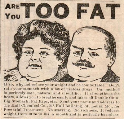 Are you -- TOO FAT