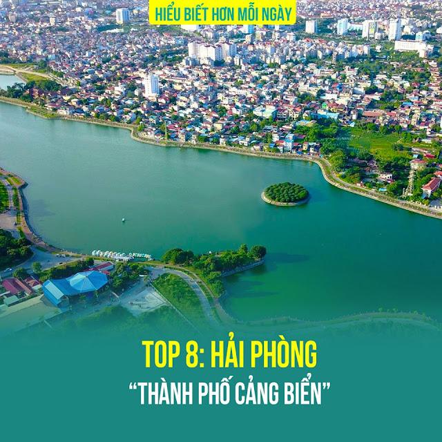 Top 8: Hải Phòng – Thành phố cảng biển