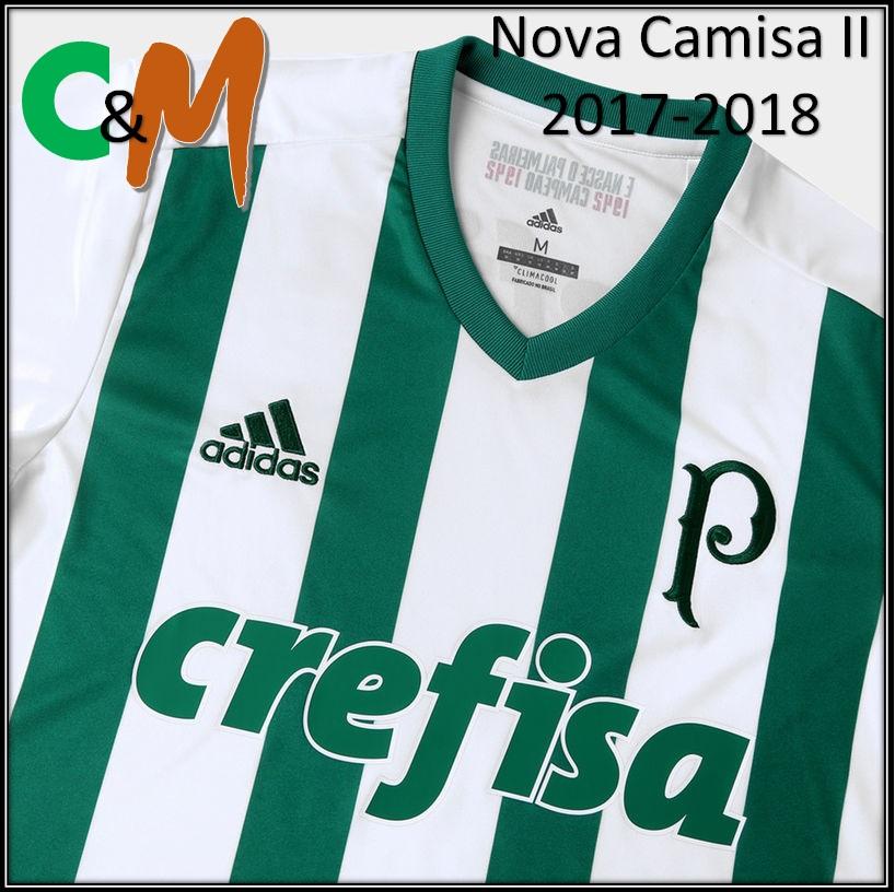 ad3dd33c8d ... citado esta nova camisa lá no POST do lançamento da camisa titular do  Palmeiras (Veja aqui), esta camisa II merece ter seu lançamento oficial  novamente ...