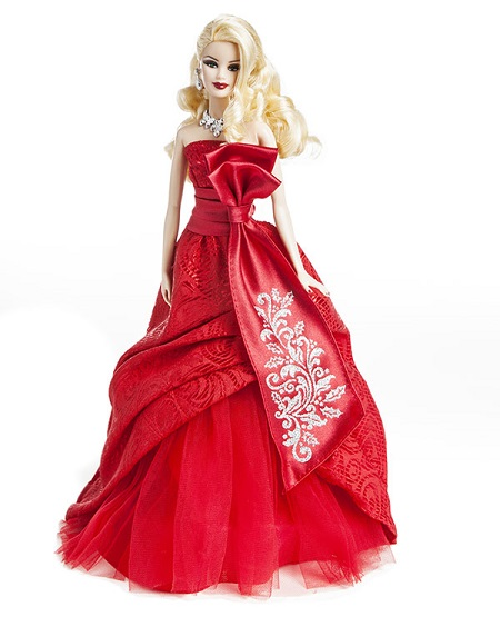Barbie Coleção Feliz Natal 2012