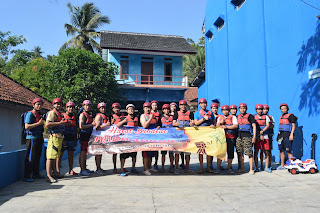sekertariat body rafting green canyon