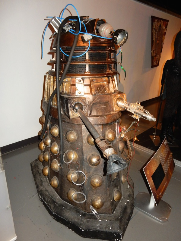 Defective Dalek Rusty Doctor Who