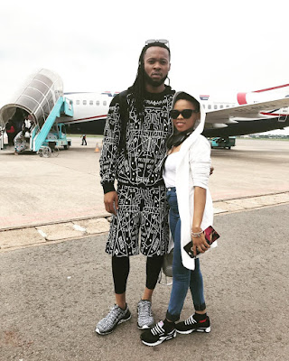 OMG!!! Chidinma Looks Exactly Like Flavour's Daughter In