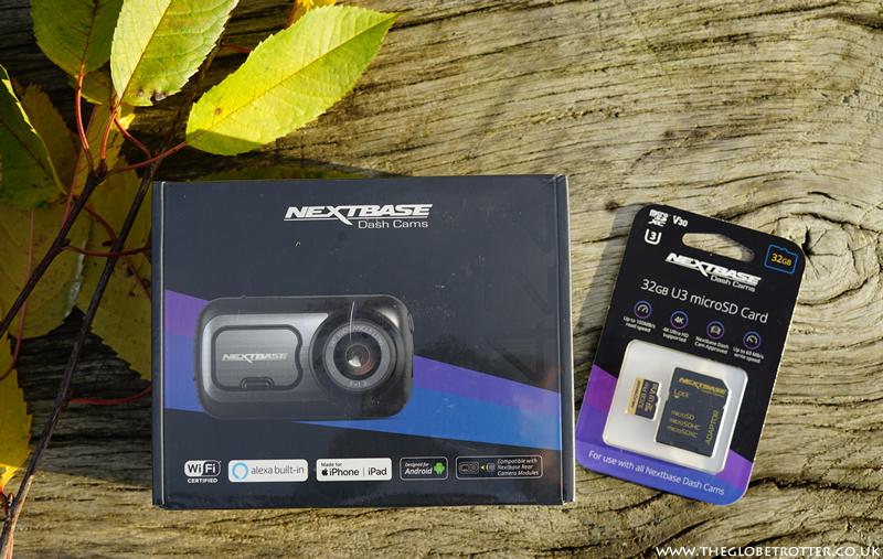 Win a Nextbase 422GW Dash Cam