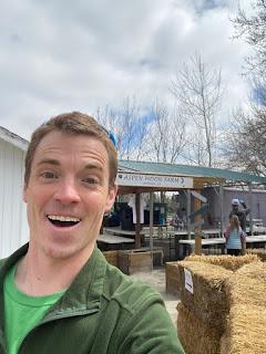 Man at Farm Stand