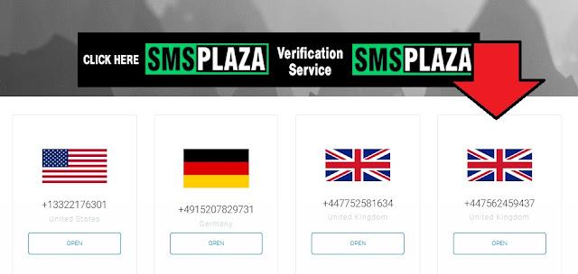 افضل 5 مواقع عالمية للحصول على رقم وهمي لاستقبال الرسائل مجانا