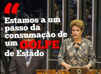 Presidenta Dilma Rousseff na luta contra o golpe de 2016 faz discurso de defesa no Senado Federal. Era  o inicio da destruição do Brasil.