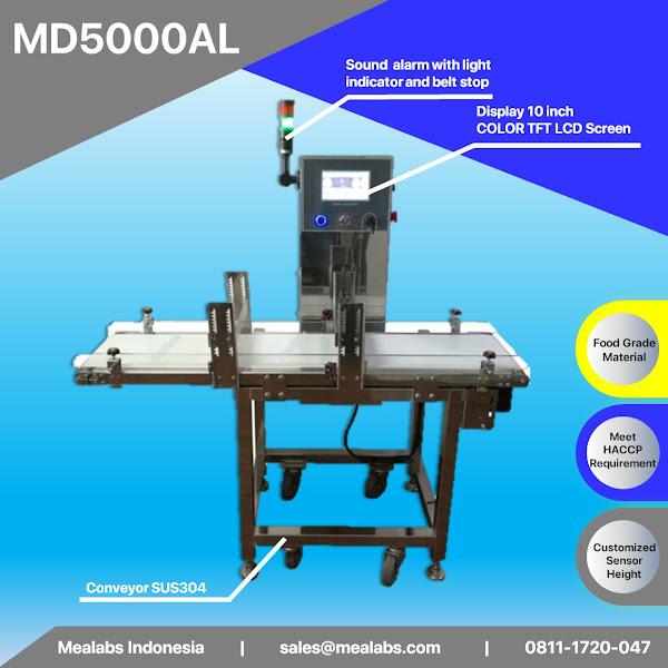 MD5000AL Aluminium Package Metal Detector