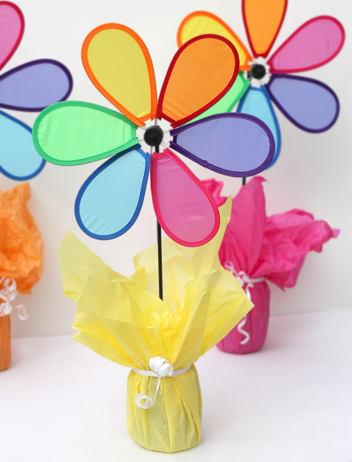 The craft patch colorful easy inexpensive spring party