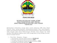 Lowongan Kerja Dinas Perhubungan Provinsi Jawa Tengah