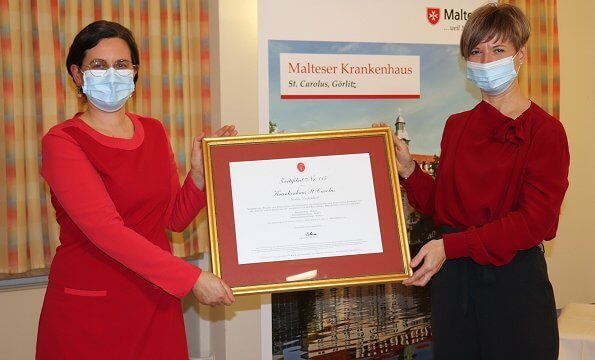 St. Carolus Hospital in Görlitz is the first in Germany to be Silvia Home certified