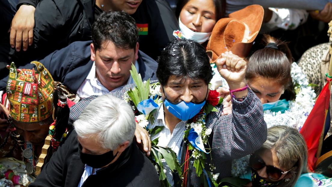 """""""Se acabó el tiempo de llorar, ahora debemos organizarnos"""": discurso de #Evo en su regreso a #Bolivia"""