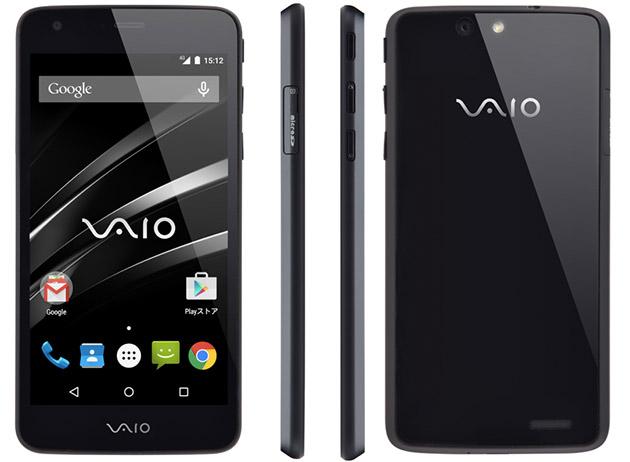 VAIO Phone, Ponsel Android Quad Core Lollipop Layar 5 Inci Berkamera 13 MP