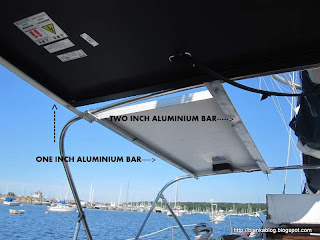 The Bianka Log Blog Solar Bimini Part Seven Panels Installed