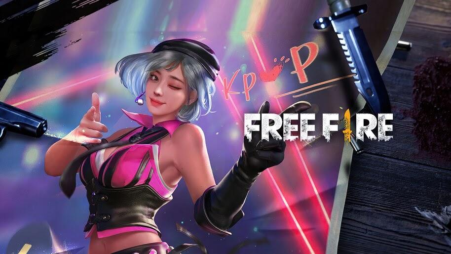 Garena, Free Fire, Girl, Kapella, Character, 4K, #3.2435