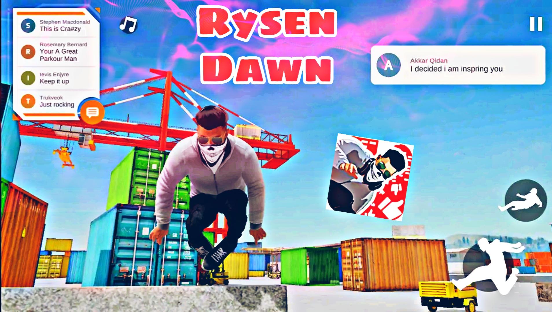 رسميا: لعبة الباركور مدهشة Ryzen Dawn جرافيك خيالي +HD