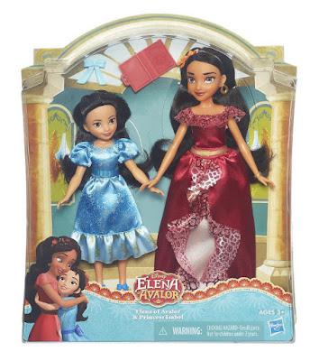 TOYS : JUGUETES - DISNEY - Elena de Avalor  Elena y Princesa Isabel | Pack de 2 Muñecas  Hasbro B7371 | SERIE TELEVISION 2016 | A partir de 3 años  Comprar en Amazon España & buy Amazon USA