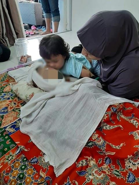 Si ibu redha pemergiaan anak sulungnya di pagi hari raya Aidiladha
