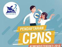Hasil Seleksi Administrasi CPNS Kemenristek 2018