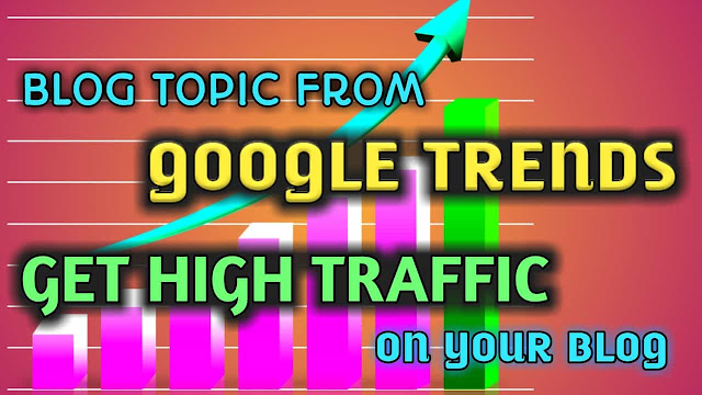 Blog rank by google Trends