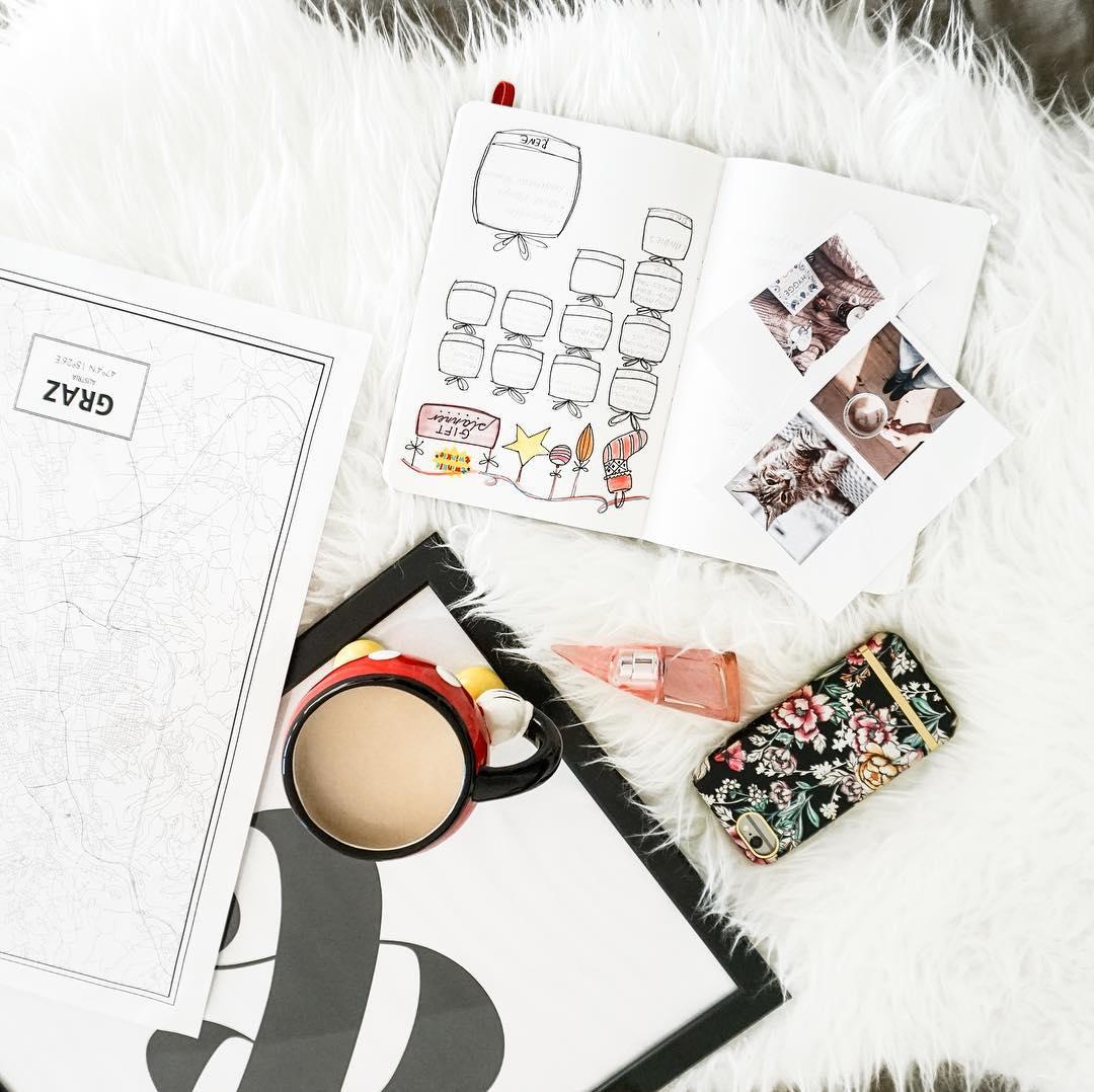 bullet journal, planner, kalendarz, bujo