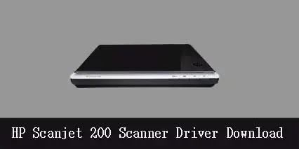 HP Scanjet 200 Flatbed Scanner Software Driver Download 2021