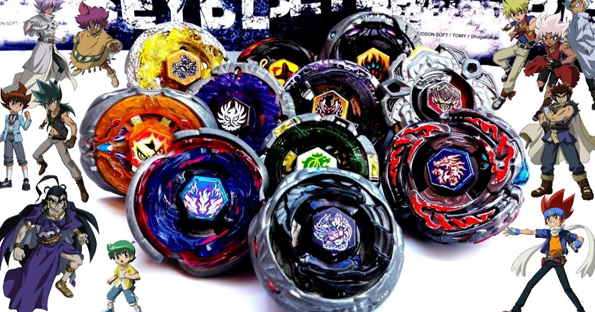 Know all about Beyblade metal fury legendary bladders