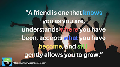 A Friend is one that knows you - Best Friendship Quotes