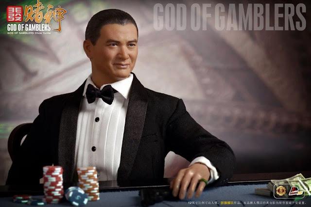 OSR: O-Soul- God of gamblers 1/6 Scale Figure & Gambling table