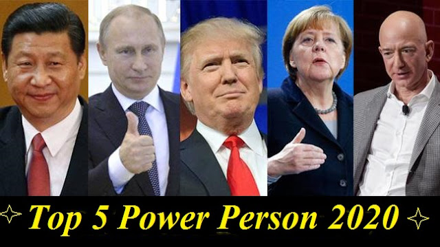 top 5 powerful person in 2020