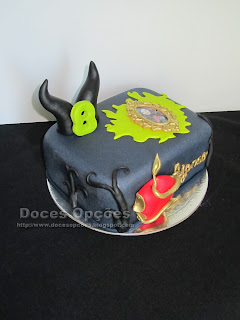 cake disney descendants