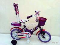1 Sepeda Anak Erminio 1222 Sandaran 12 Inci
