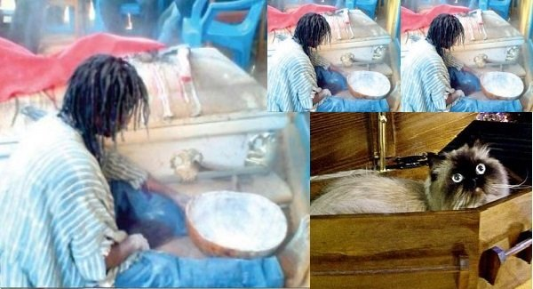 Ghanaian Sakawa Man Turns Into Cat During Rituals