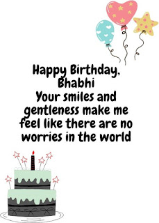 birthday wishes for bhabhi images