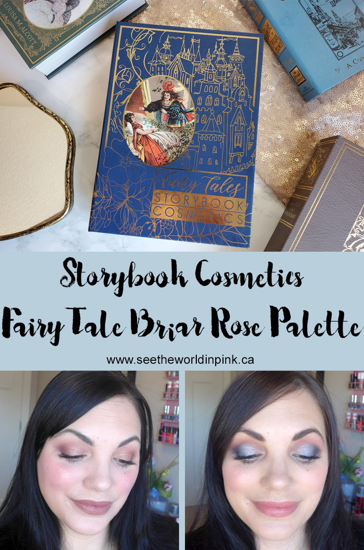Storybook Cosmetics Fairy Tales Little Briar Rose Palette