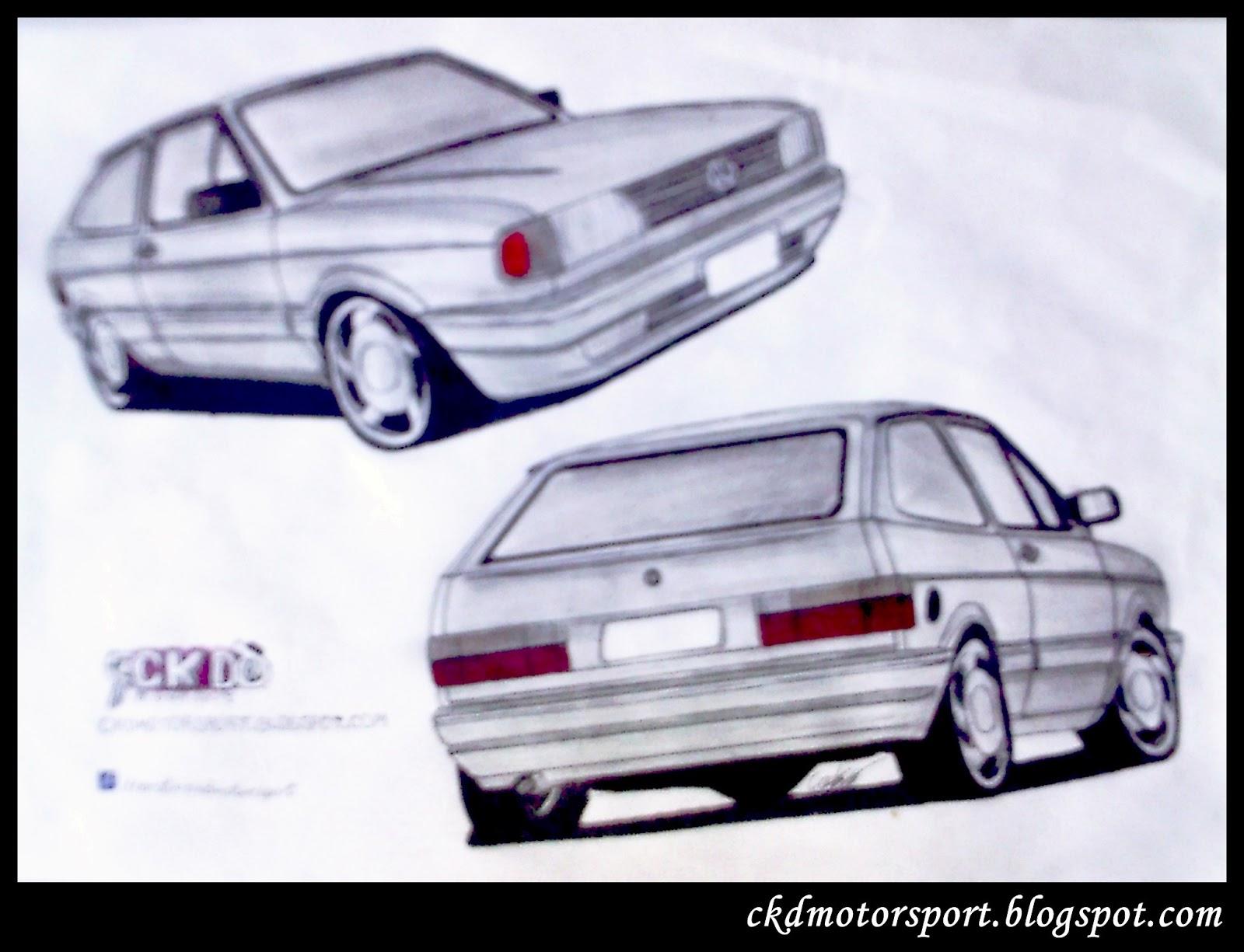 Ckd Motorsport Volkswagen Gol O Quadrado Desejado