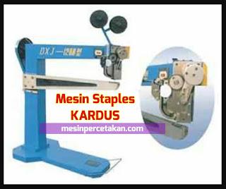 Mesin Stitching Staples Kardus