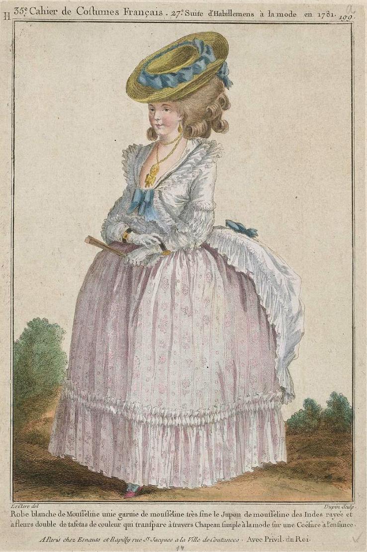 eighteenth century fashion