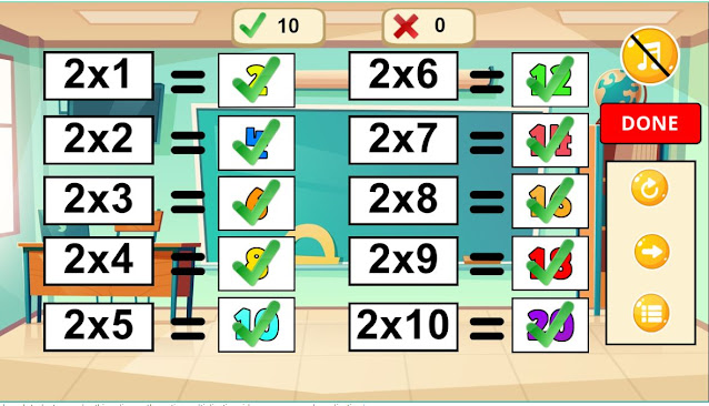 Multiplication Table: Online Times Table Quiz Game for Kids