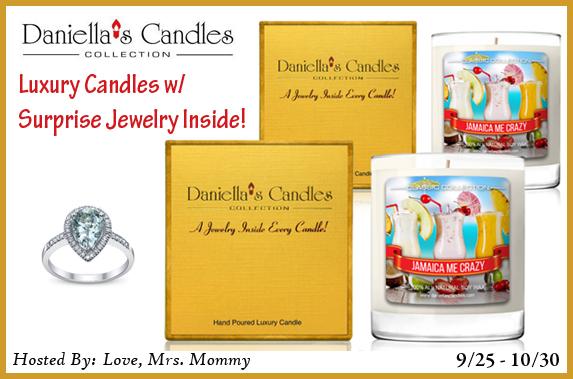 Enter to Win TWOJamaica Me Crazy Candles! ($48 TRV)! (Ends 10/30)